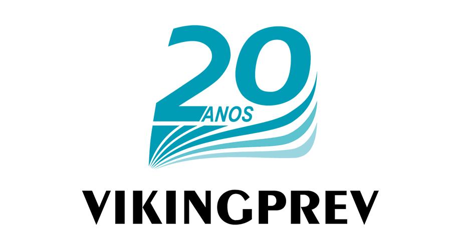 Vikingprev 20 Anos Logo