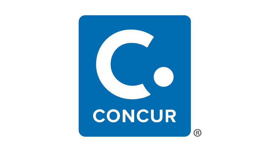 Concur Logo (Vertical)