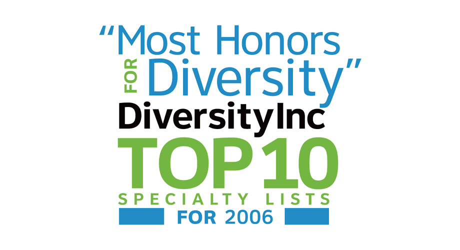 DiversityInc Top 10 Specialty Lists for 2006 Logo