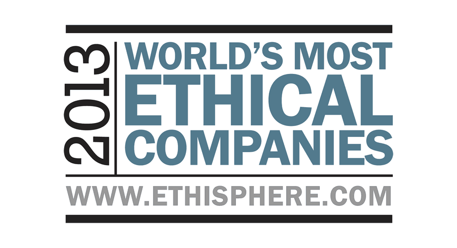 Ethisphere 2013 World's Most Ethical Companies Logo