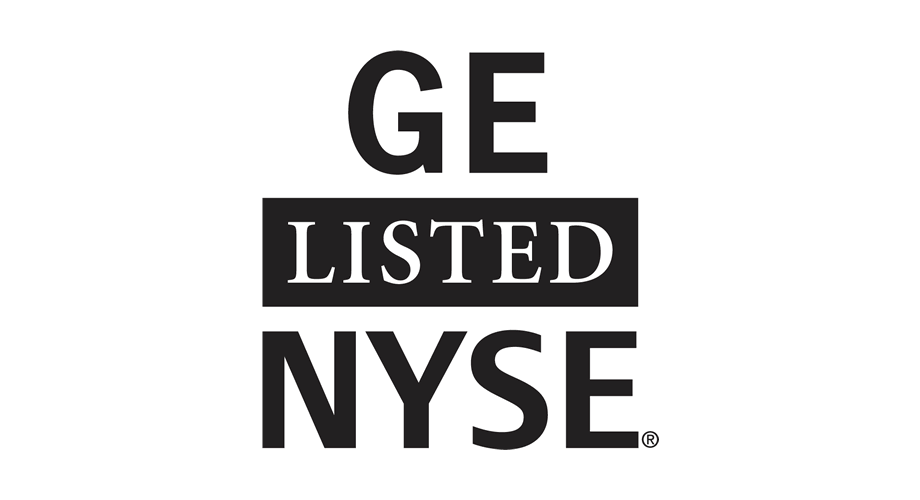 GE Listed NYSE Logo