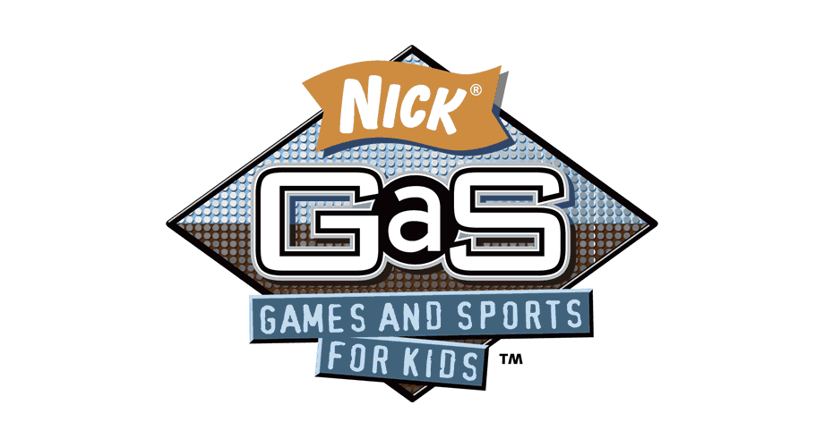 Nick GaS Games and Sports for Kids Logo
