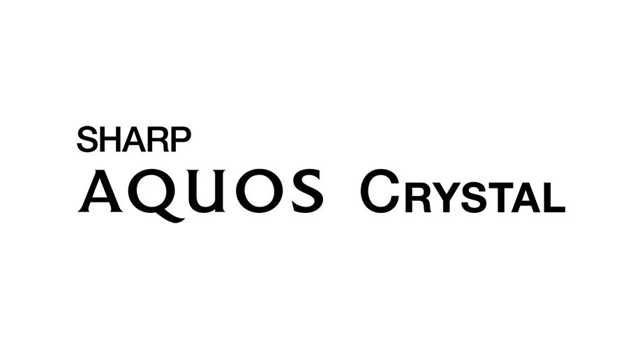 Sharp AQUOS Crystal Logo