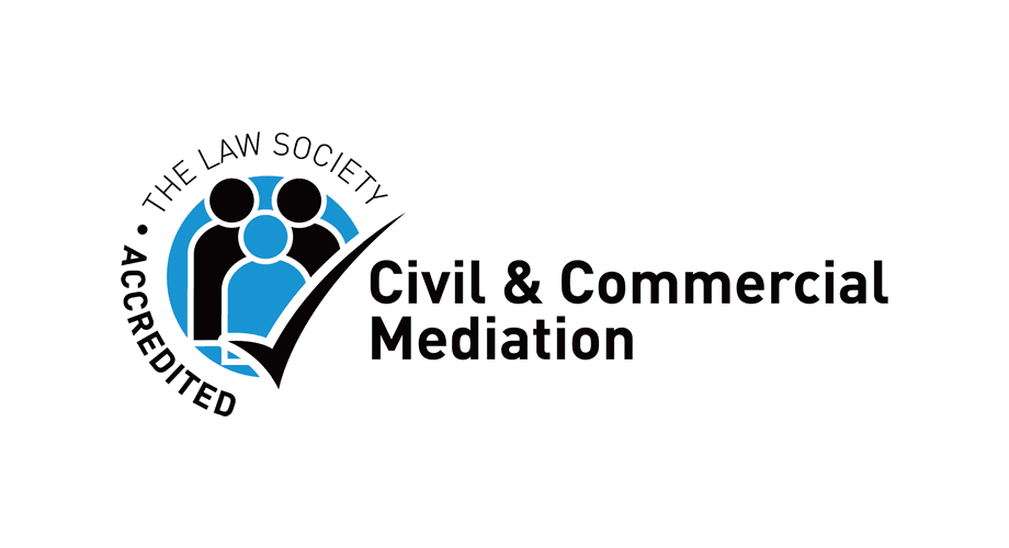 The Law Society Accredited Civil & Commercial Mediation Logo