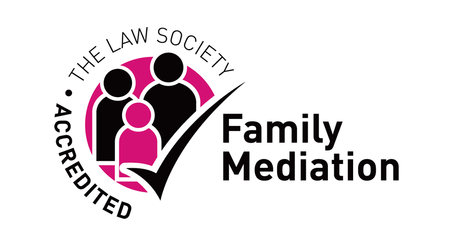 The Law Society Accredited Family Mediation Logo