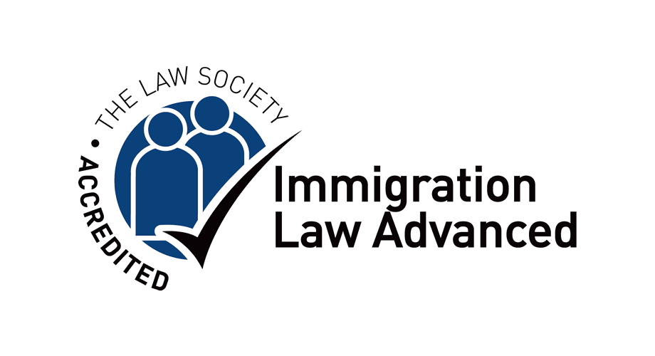 The Law Society Accredited Immigration Law Advanced Logo