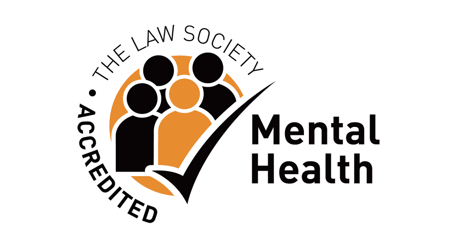 The Law Society Accredited Mental Health Logo
