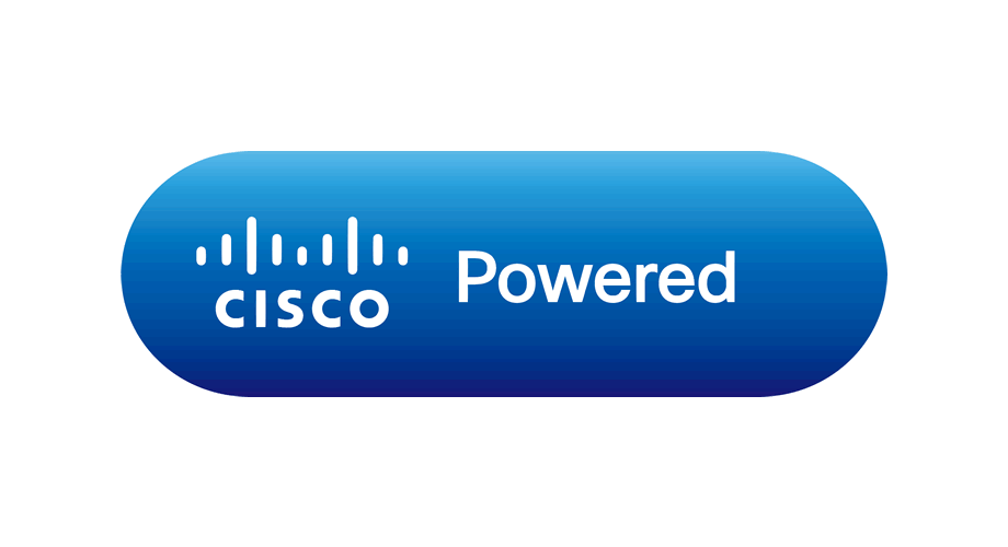 Cisco Powered Logo (Blue)