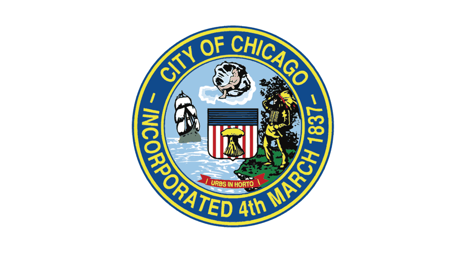 City of Chicago Incorporated 4th March 1837 Logo
