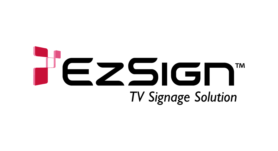 EzSign TV Signage Solution Logo