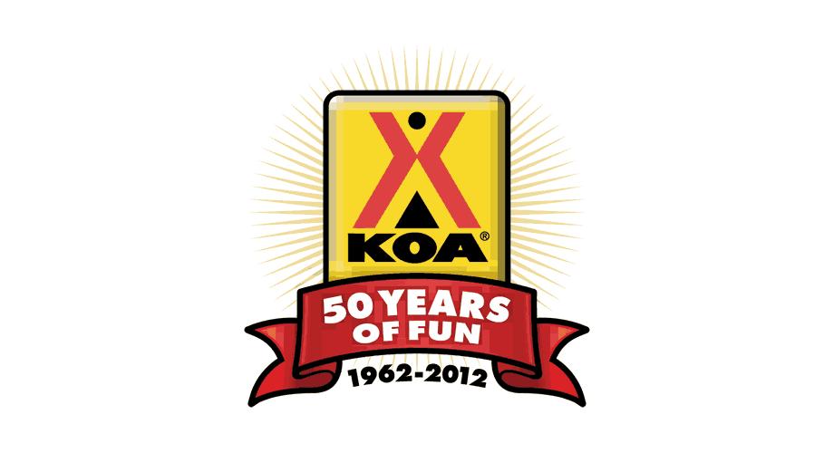 KOA 50 Years of Fun 1962-2012 Logo