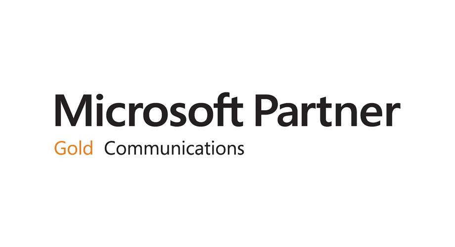 Microsoft Gold Communications Partner Logo