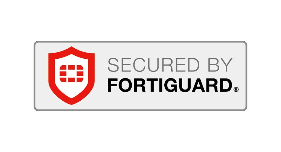 Security by FortiGuard Logo