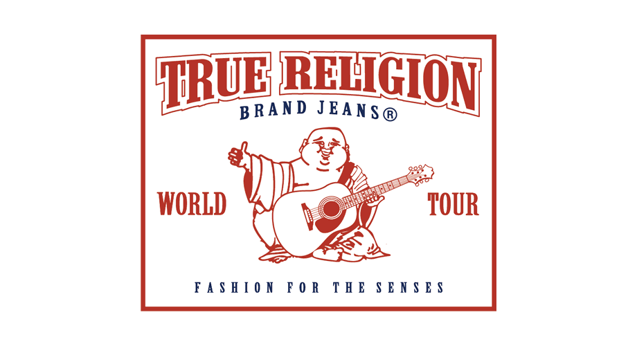 True Religion Brand Jeans World Tour Logo