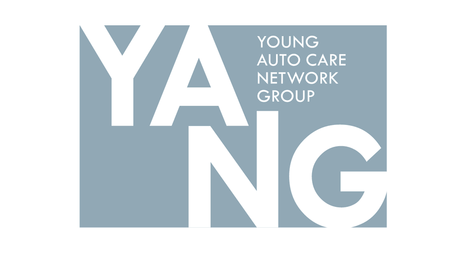 Young Auto Care Network Group (YANG) Logo