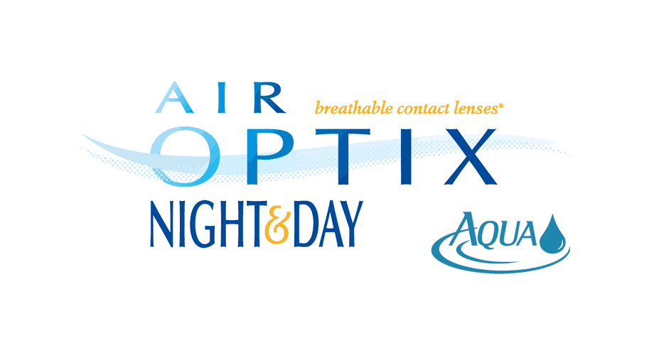 AIR OPTIX NIGHT & DAY AQUA Logo