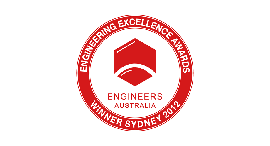 Engineers Australia Engineering Excellence Awards Winner Sydney 2012 Logo