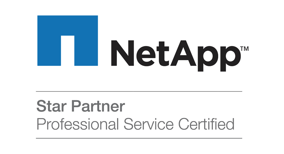NetApp Star Partner Professional Service Certified Logo