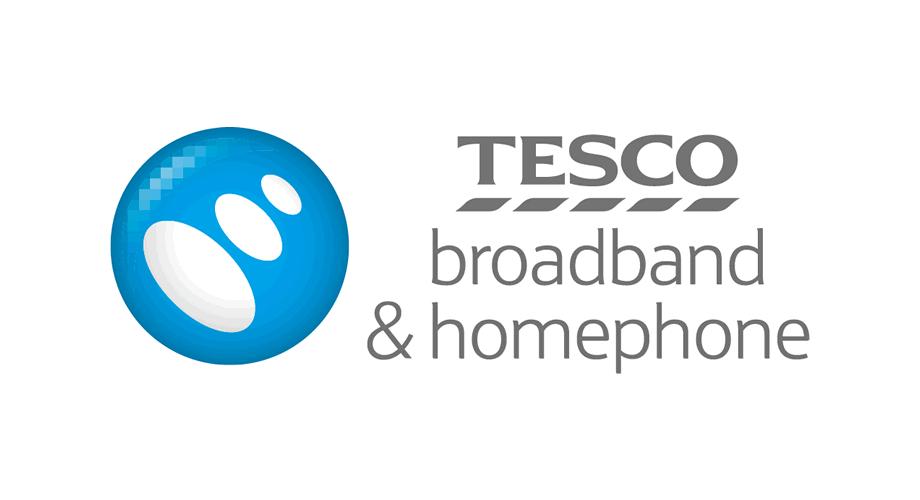 Tesco Broadband & Homephone Logo