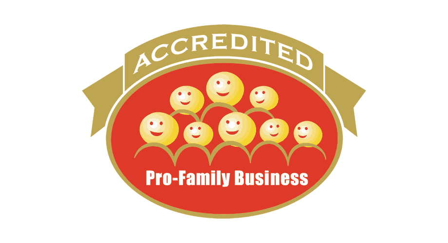 Accredited Pro-Family Business Logo
