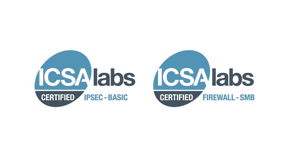 ICSA Labs Certified Logo