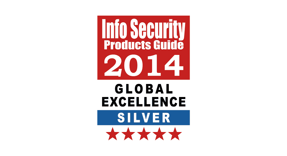Info Security Products Guide 2014 Global Excellence Awards Silver Logo