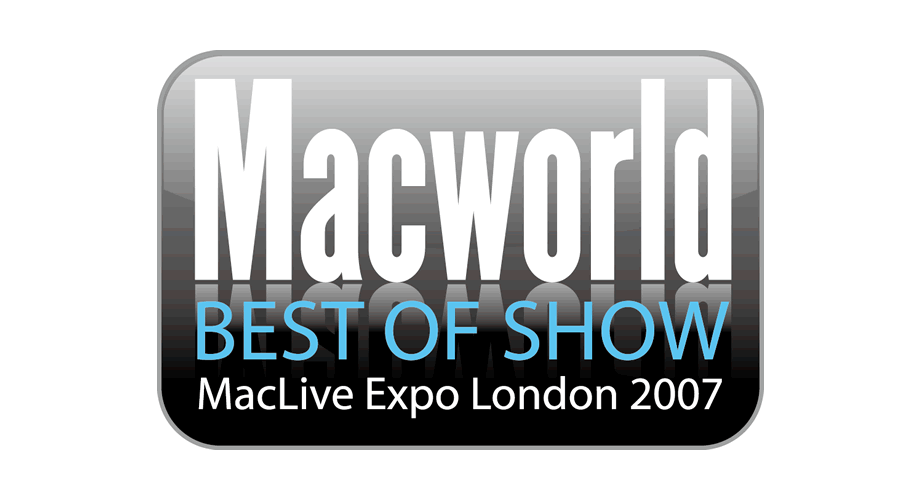 Macworld Best of Show MacLive Expo London 2007 Logo