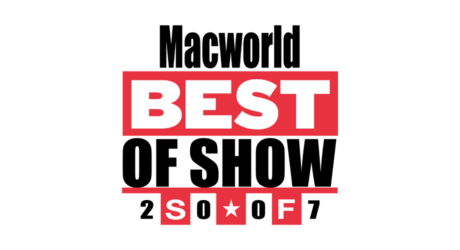 MacWorld Expo 2007 Best of Show Logo