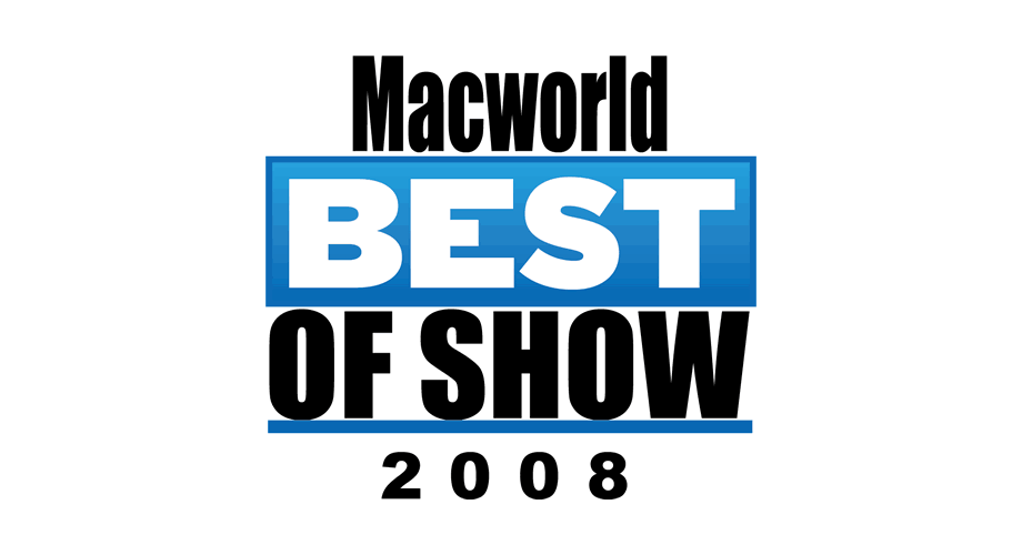 MacWorld Expo 2008 Best of Show Logo
