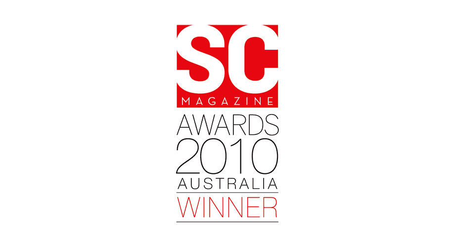 SC Magazine Awards 2010 Australia Winner Logo