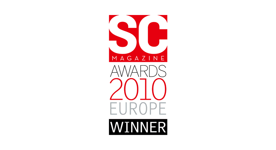 SC Magazine Awards 2010 Europe Winner Logo