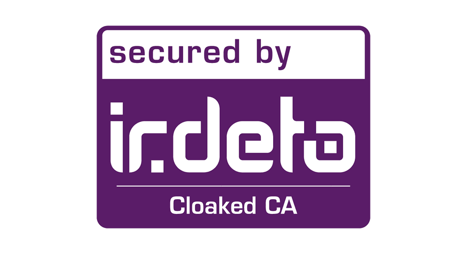 Secured by Irdeto Cloaked CA Logo