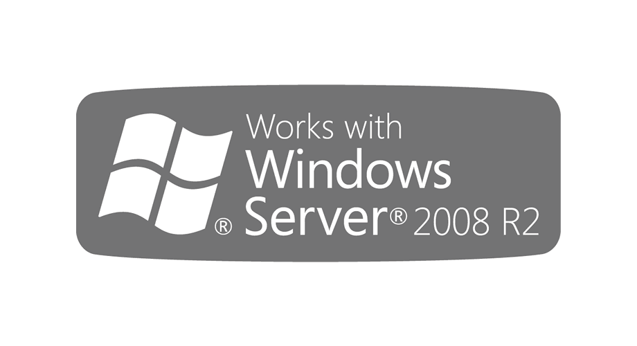 Works with Windows Server 2008 R2 Logo