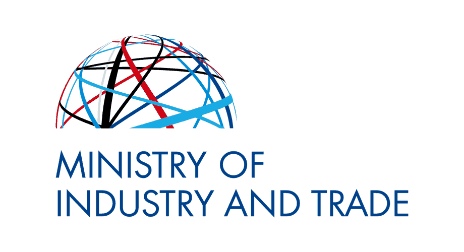 Ministry of Industry and Trade of the Czech Republic Logo