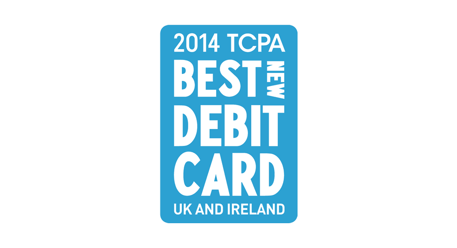 2014 TCPA Best New Debit Card UK and Ireland Logo