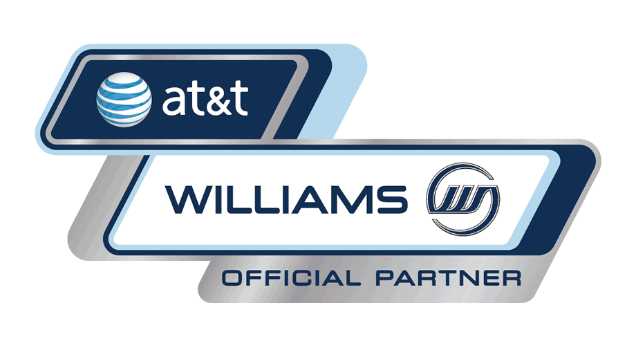 AT&T Williams Official Partner Logo