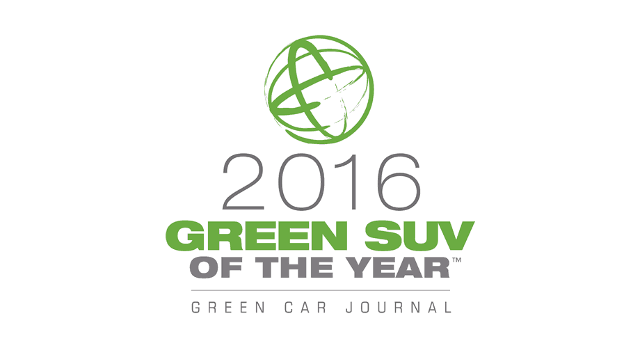 Green Car Journal 2016 Green Car of the Year Logo