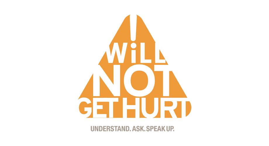 I Will Not Get Hurt Logo