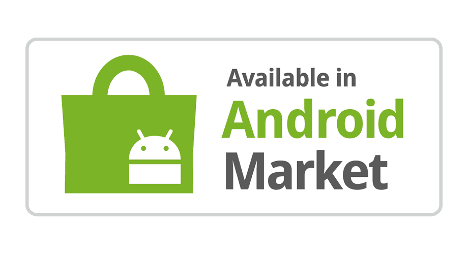 Available in Android Market Logo