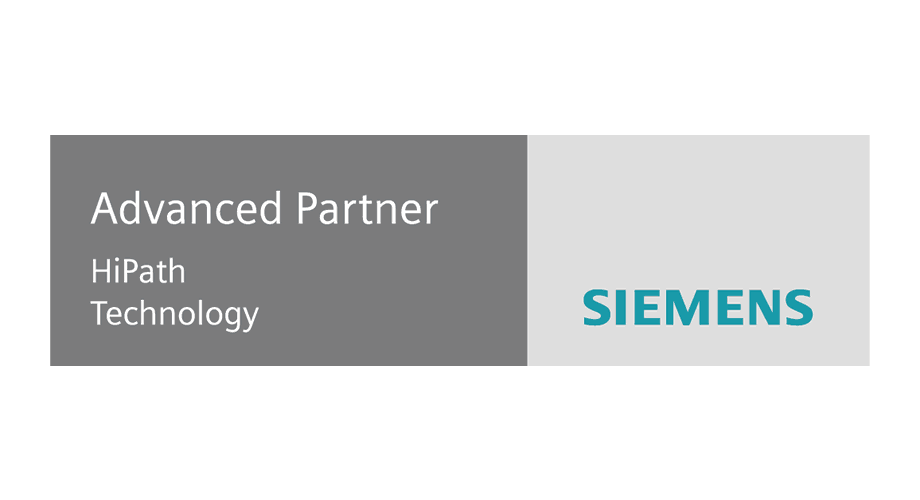 Siemens Advanced Partner HiPath Technology Logo