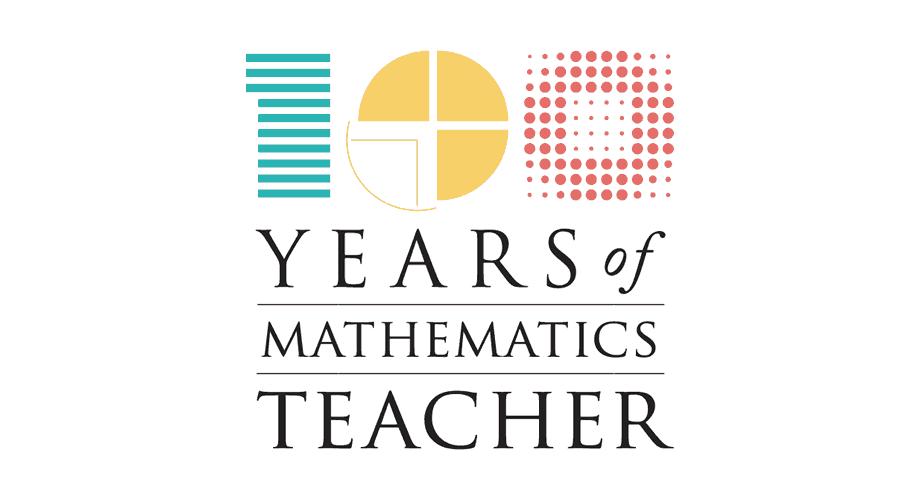100 Years of Mathematics Teacher Logo
