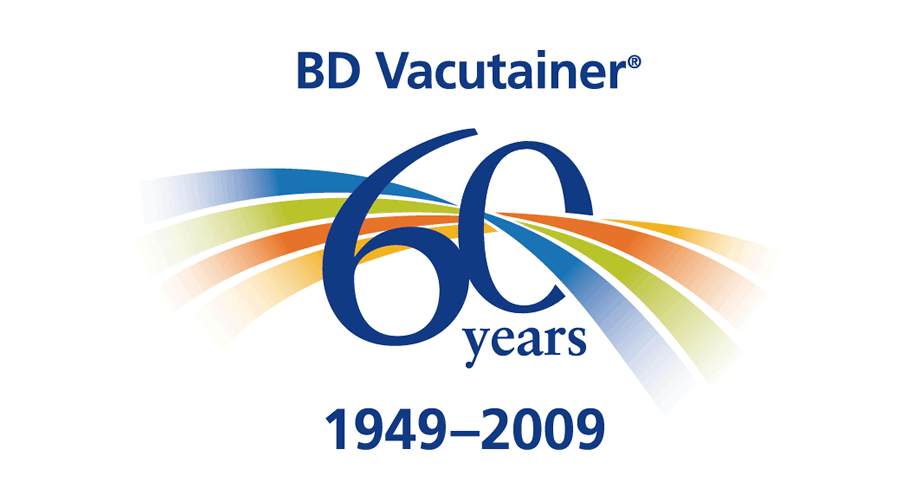 BD Vacutainer 60 Years 1949-2009 Logo