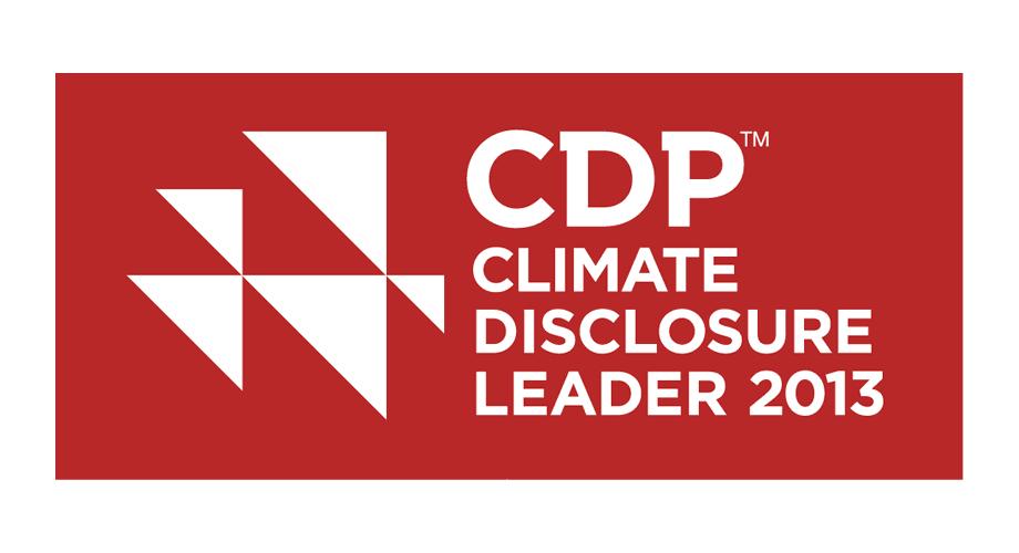 CDP Climate Disclosure Leader 2013 Logo