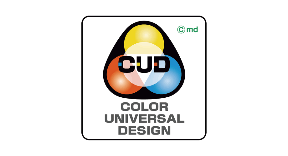 Color Universal Design (CUD) Logo