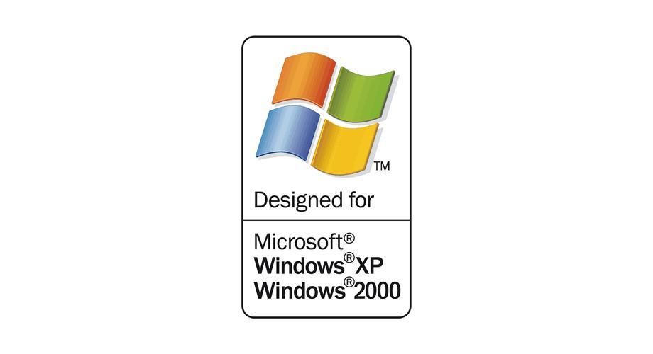 Designed for Microsoft Windows XP Windows 2000 Logo