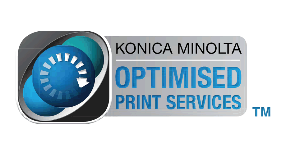 Konica Minolta Optimised Print Services Logo
