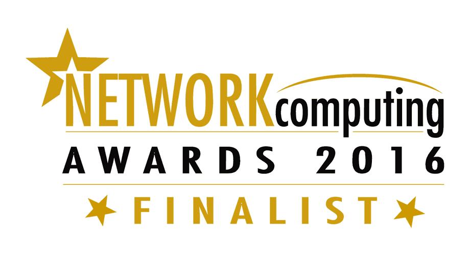 Network Computing Awards 2016 Finalist Logo