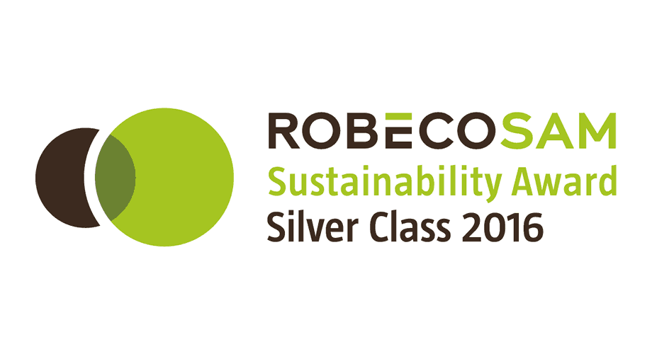 RobecoSAM Sustainability Award Silver Class 2016 Logo
