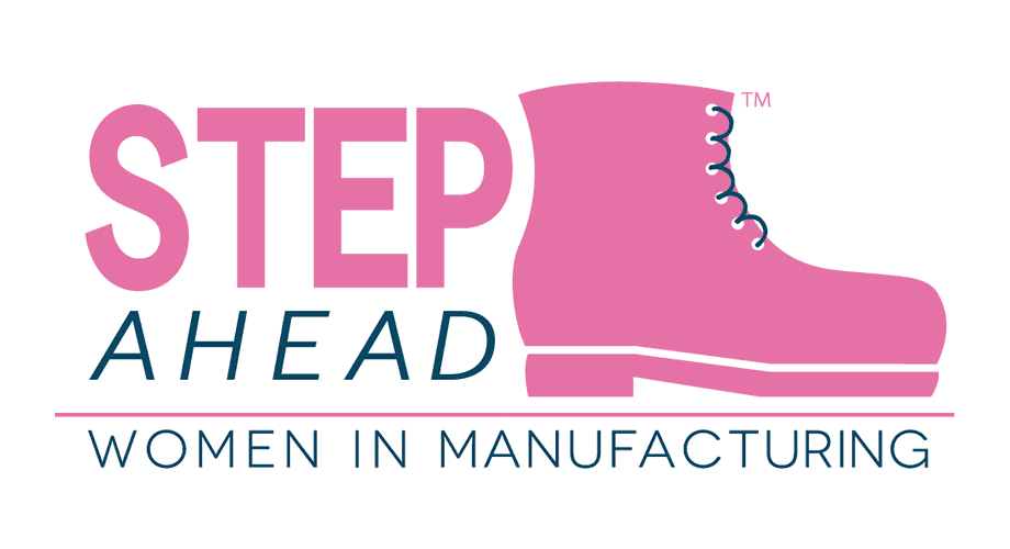 STEP Ahead Women in Manufacturing Logo