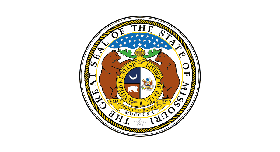 The Great Seal of The State of Missouri Logo